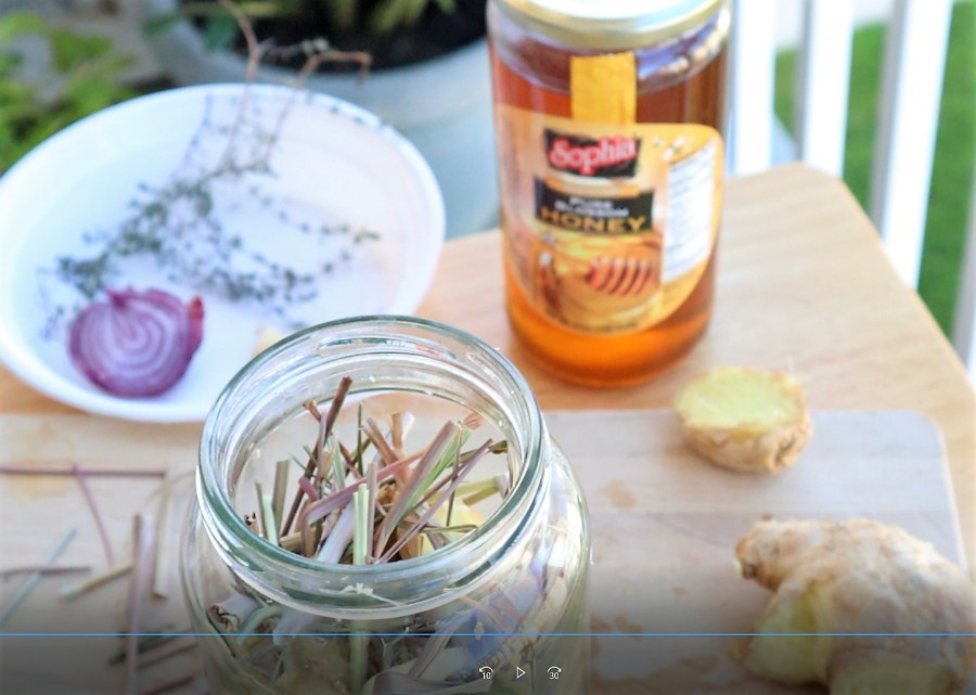 colds or the flu natural remedy ingredients