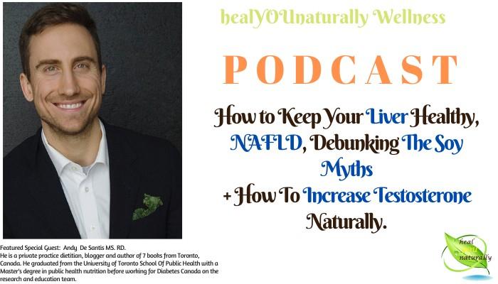 podcast 31 Andi Di Santis Liver Health NAFLD