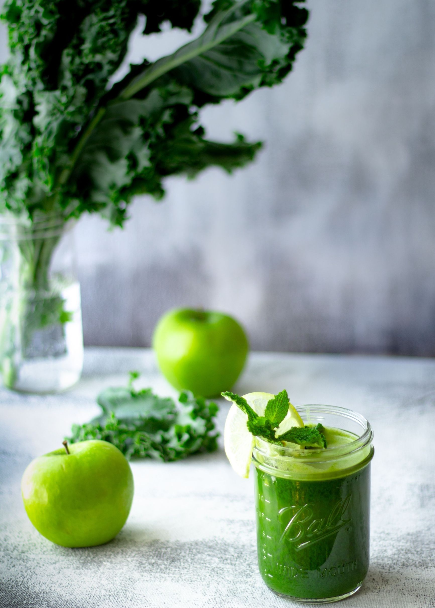 liver detox smoothie green